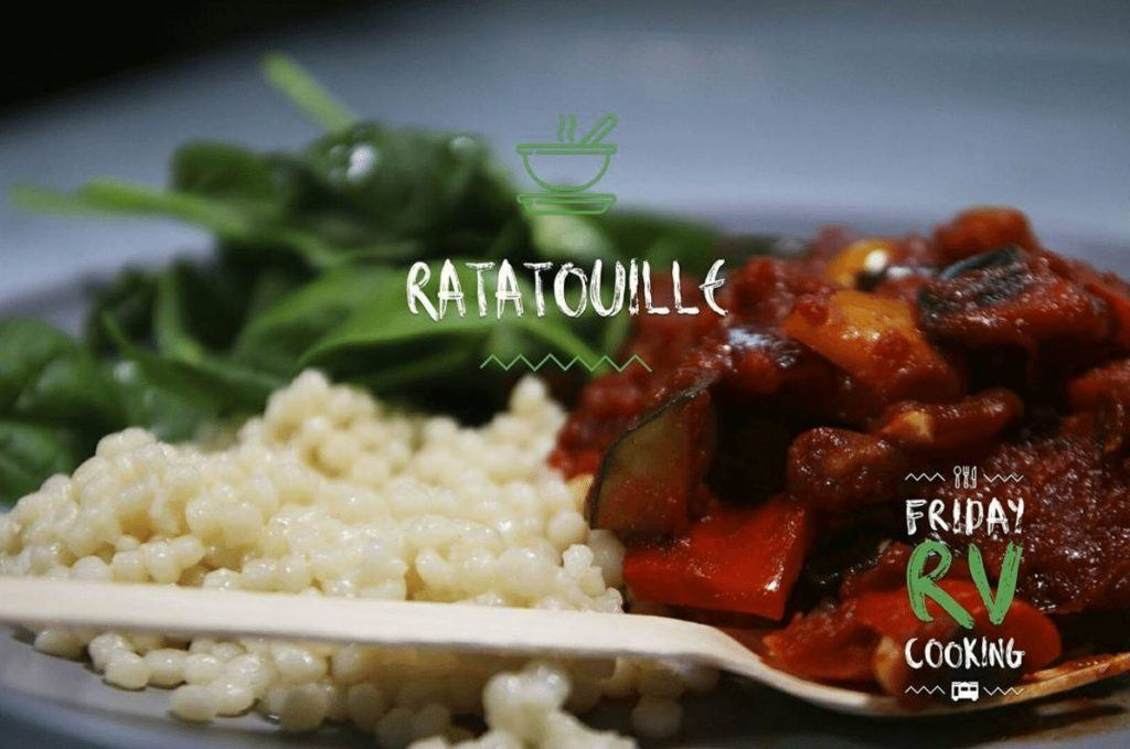 Friday RV Cooking – Episode 1 - Ratatouille