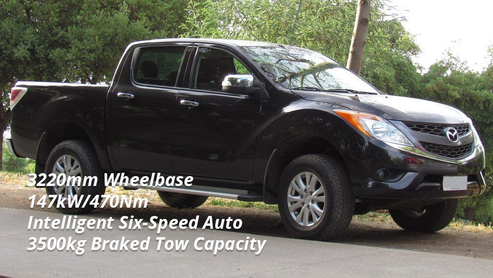 Selecting a Tow Car - Mazda BT-50