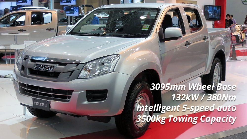 Selecting a Tow Car - Isuzu D-Max LS-M
