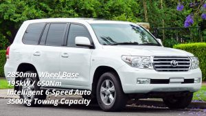 Selecting a Tow Car - Toyota Land Cruiser 200 Series GXL