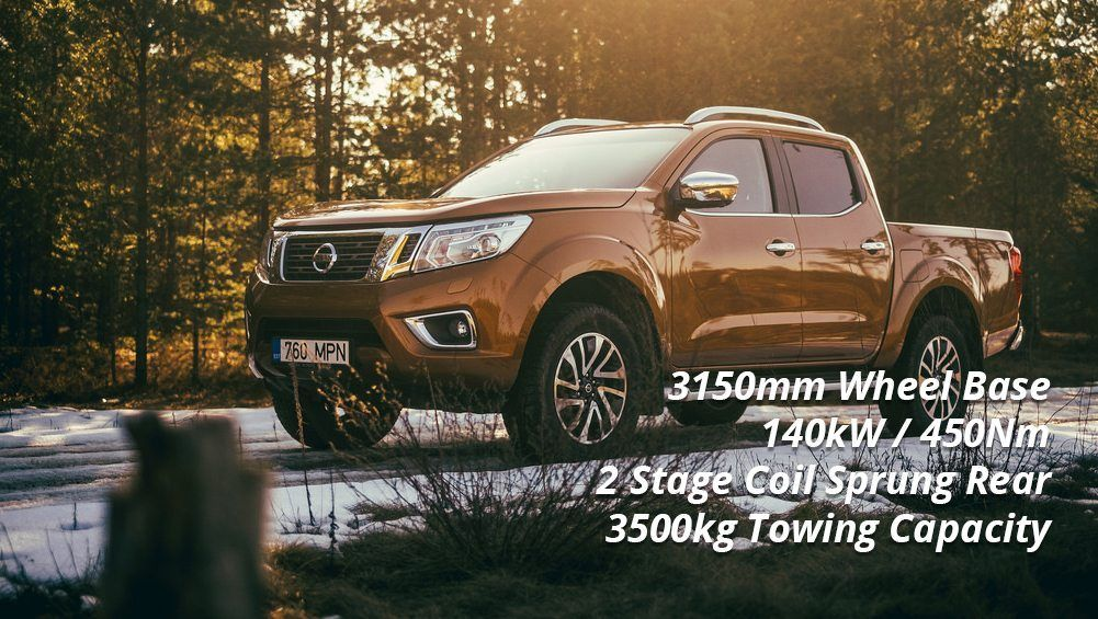 Selecting A Tow Car - Nissan Navara ST
