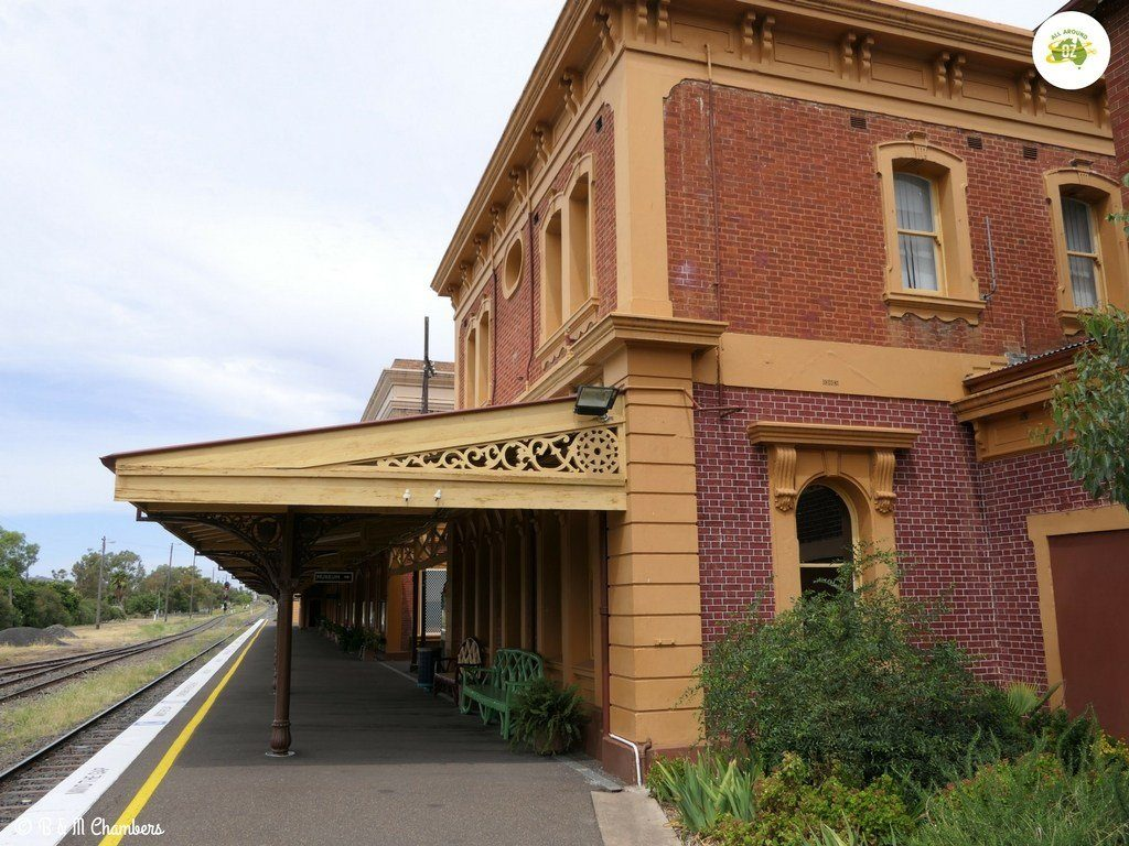 Werris Creek Railway station - major railway station in NSW